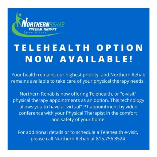 Northern Rehab Telehealth Now Available V2